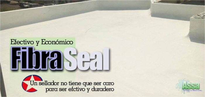 Sellado de techos FIBRASEAL